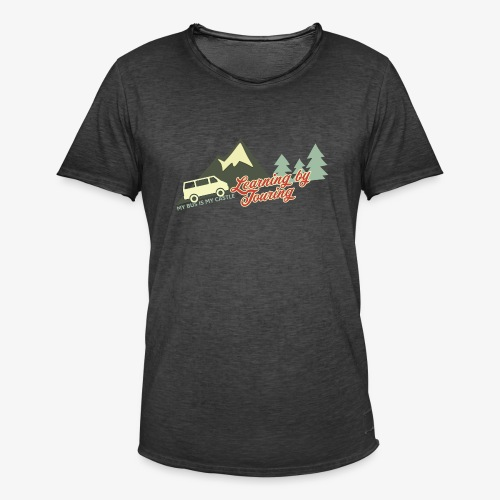 Learning by Touring - Männer Vintage T-Shirt