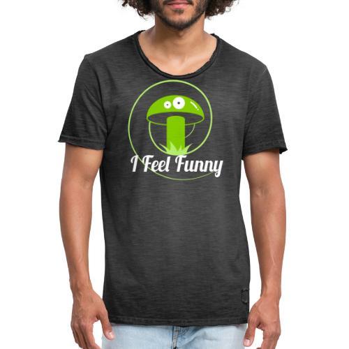 Mushroom 0U812 - Men's Vintage T-Shirt