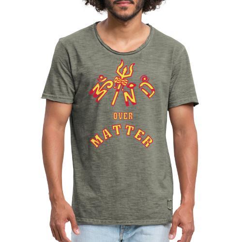 Mind over Matter - Herre vintage T-shirt