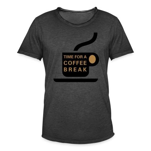 cofee2 - Männer Vintage T-Shirt