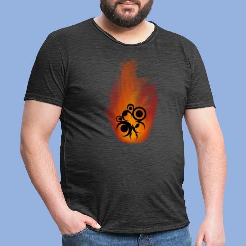 Should I stay or should I go Fire - T-shirt vintage Homme