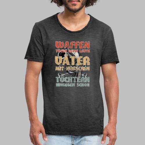 Väter mit hübschen Töchtern - Männer Vintage T-Shirt