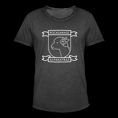 Rockgarage Alpakatraz - Männer Vintage T-Shirt
