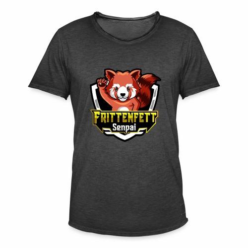 FrittenfettSenpai 2019 - Männer Vintage T-Shirt