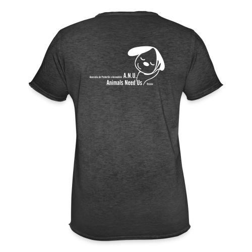 anu vector T - Männer Vintage T-Shirt