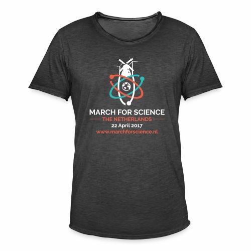 MfS-NL logo dark background - Men's Vintage T-Shirt