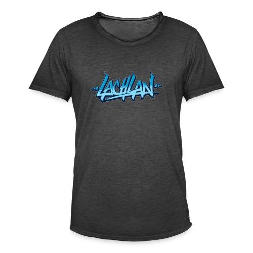 lachlan - Mannen Vintage T-shirt