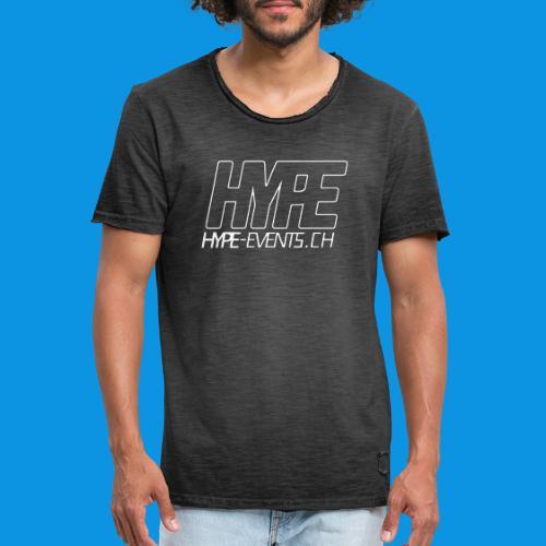 HYPEEVENTS - Männer Vintage T-Shirt
