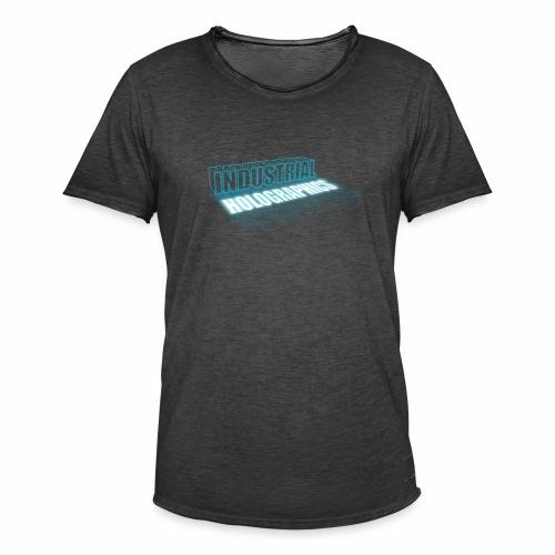 Industrial Holographics - Männer Vintage T-Shirt