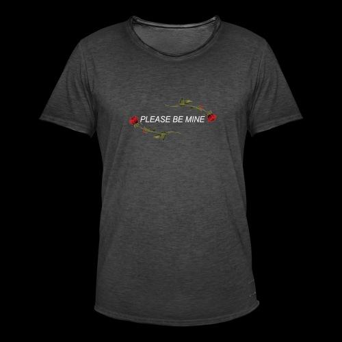 Please Be Mine - Men's Vintage T-Shirt