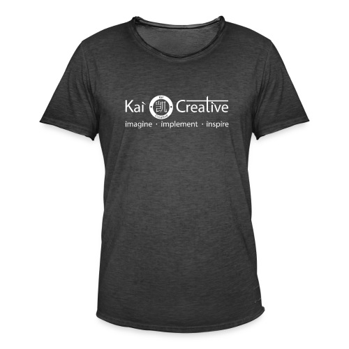 Classic Kai Creative Logo T-shirt - Men's Vintage T-Shirt