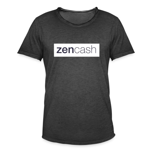 ZenCash CMYK_Horiz - Full - Men's Vintage T-Shirt
