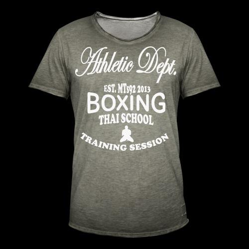 (high_school_couleur_uni) - T-shirt vintage Homme