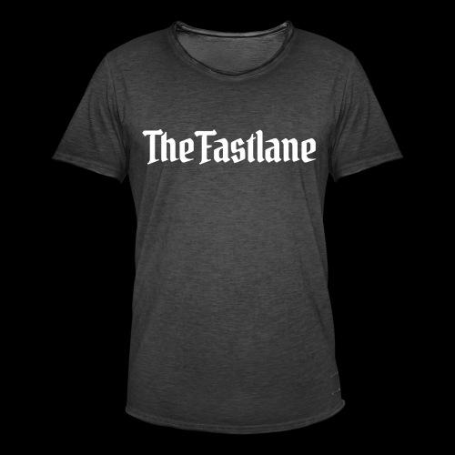 Logo White - Men's Vintage T-Shirt