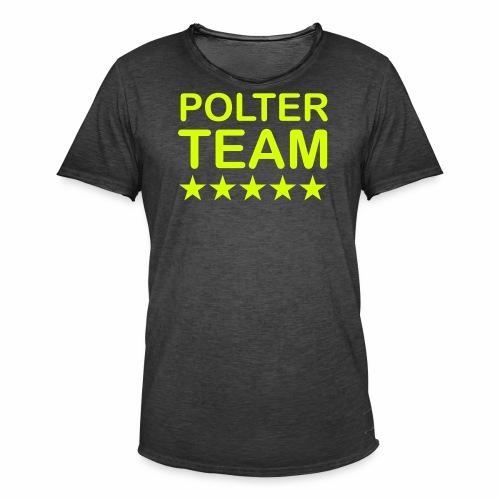 Poltercrew - Männer Vintage T-Shirt