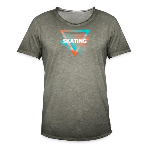 Skating Diffus - Männer Vintage T-Shirt