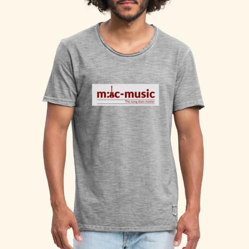 mtc music - Männer Vintage T-Shirt