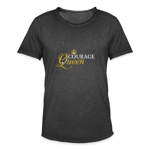 courage queen - Men's Vintage T-Shirt