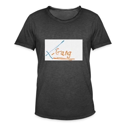 t-gang snapback cap - Men's Vintage T-Shirt