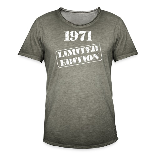 Limited Edition 1971 - Männer Vintage T-Shirt