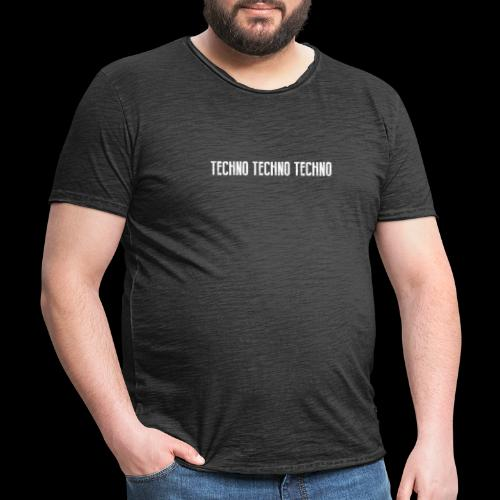 TECHNO TECHNO TECHNO - Men's Vintage T-Shirt