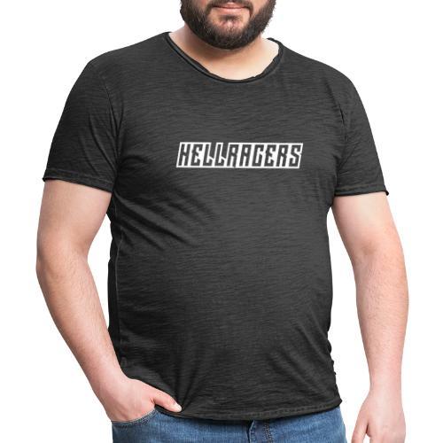 HELLRACERS TEXT - Vintage-T-shirt herr