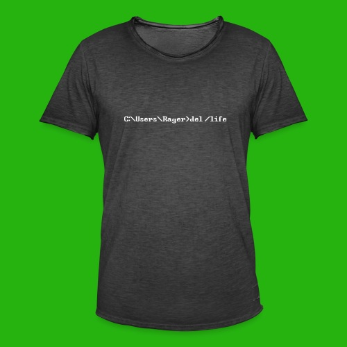 Programming Get A Life - Men's Vintage T-Shirt