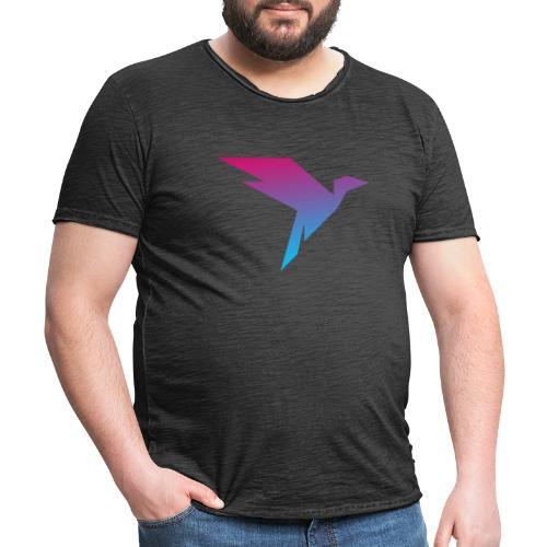 Humanisten Vogel - Männer Vintage T-Shirt