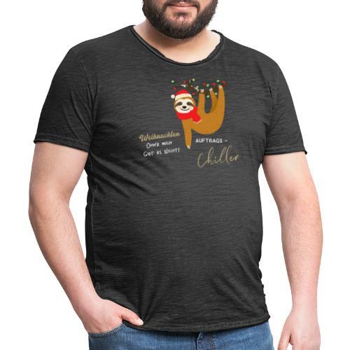 Weihnachten ohne mich gibt es nicht Design - Männer Vintage T-Shirt