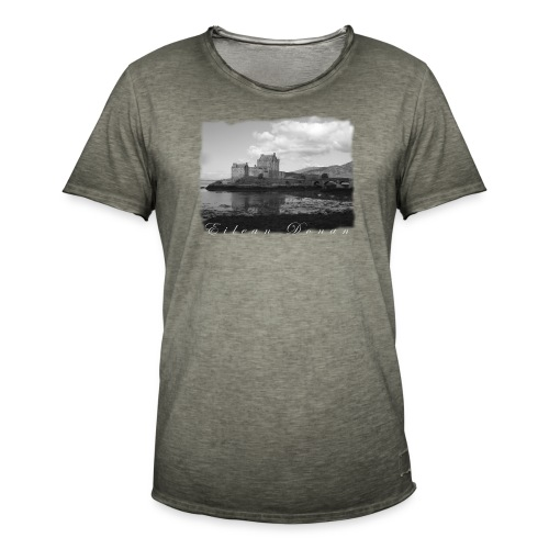 EILEAN DONAN CASTLE #1 - Männer Vintage T-Shirt