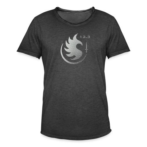Patch IR 13 3 TRAME BLACK INVERT - T-shirt vintage Homme