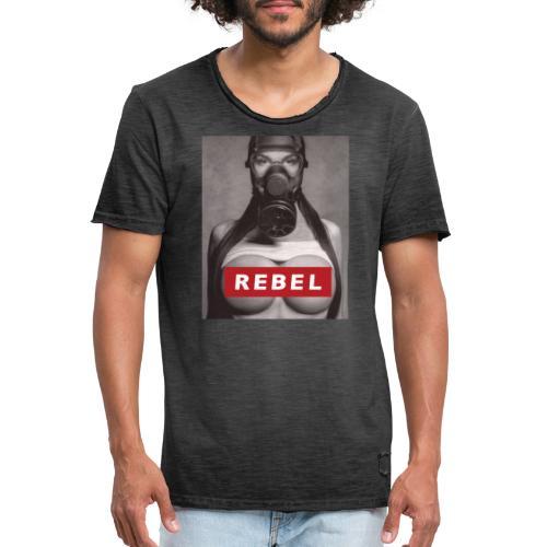 postapocalyptic rebel - Männer Vintage T-Shirt