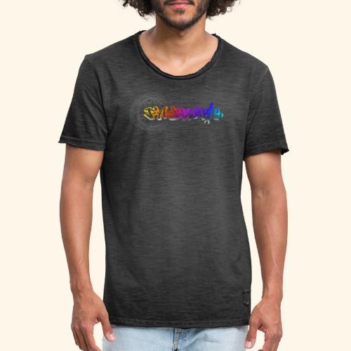 Fastatic mit Felge - Männer Vintage T-Shirt
