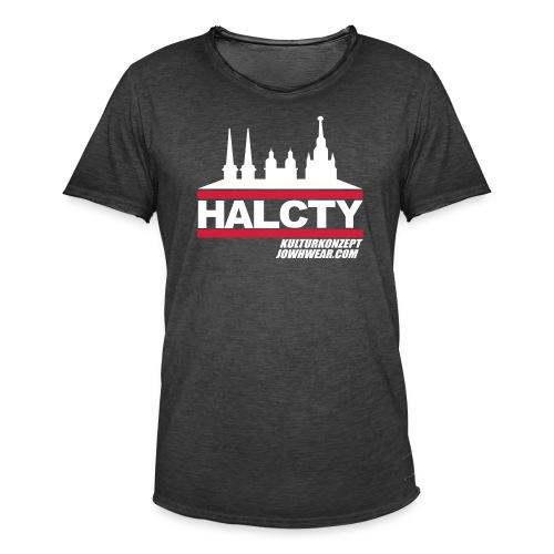HAL.CTY by JOWHWEAR.COM - Männer Vintage T-Shirt