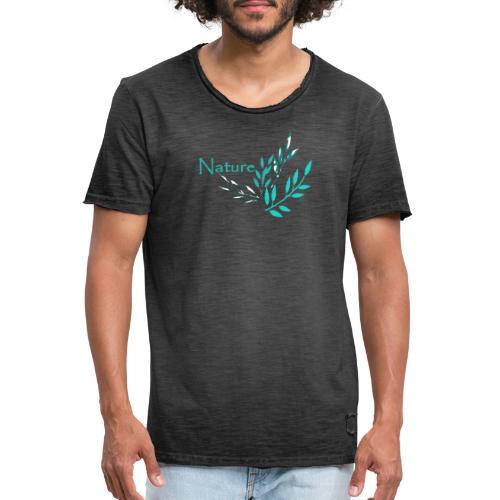 Nature - Natur - Männer Vintage T-Shirt