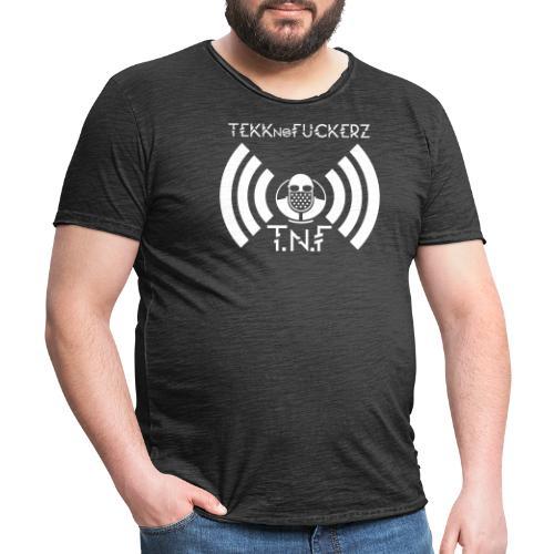 Tekknofuckerz Logo - Männer Vintage T-Shirt