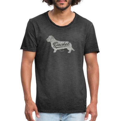 Dackel since 2014 Vintage Design Geschenkidee - Männer Vintage T-Shirt