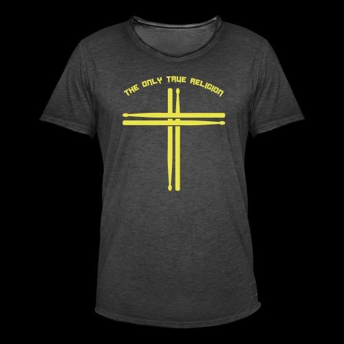 True Religion - Männer Vintage T-Shirt