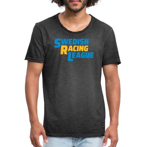 SRL utan GTS logo - Vintage-T-shirt herr