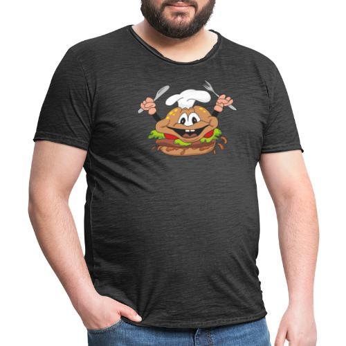 burger - Männer Vintage T-Shirt