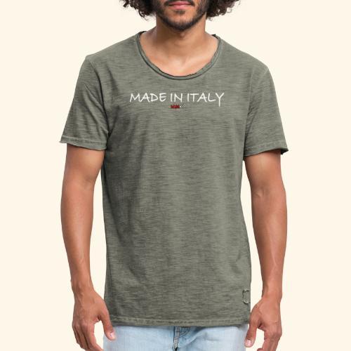 nmk made in italy - Maglietta vintage da uomo