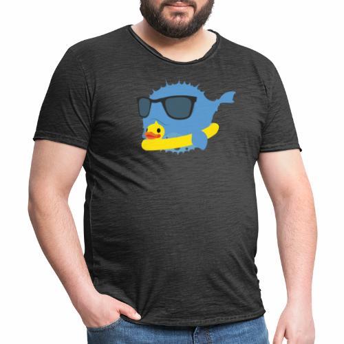 NEO-FUGU Spring summer duck - T-shirt vintage Homme