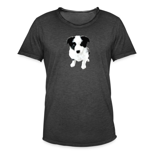 fox - Camiseta vintage hombre