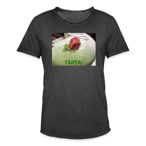 Tårta! - Vintage-T-shirt herr