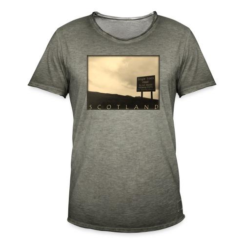 Scotland #1 (Vintage) - Männer Vintage T-Shirt