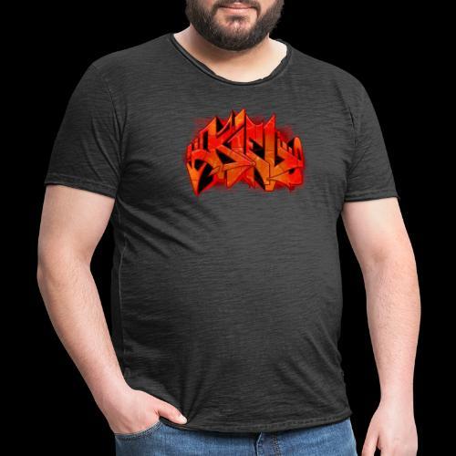 Kiel Graffiti - Männer Vintage T-Shirt