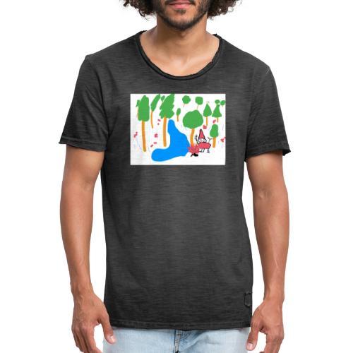 Death in the Forest - Männer Vintage T-Shirt
