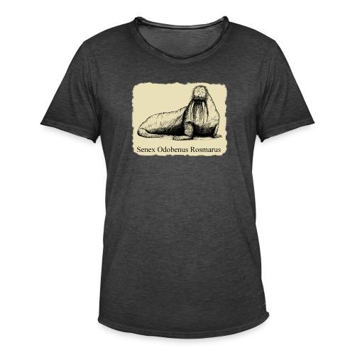 The Old Walrus - Men's Vintage T-Shirt