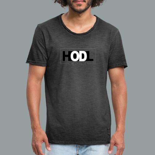Just HOLD It - Camiseta vintage hombre