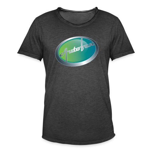 Autofan groen - Mannen Vintage T-shirt